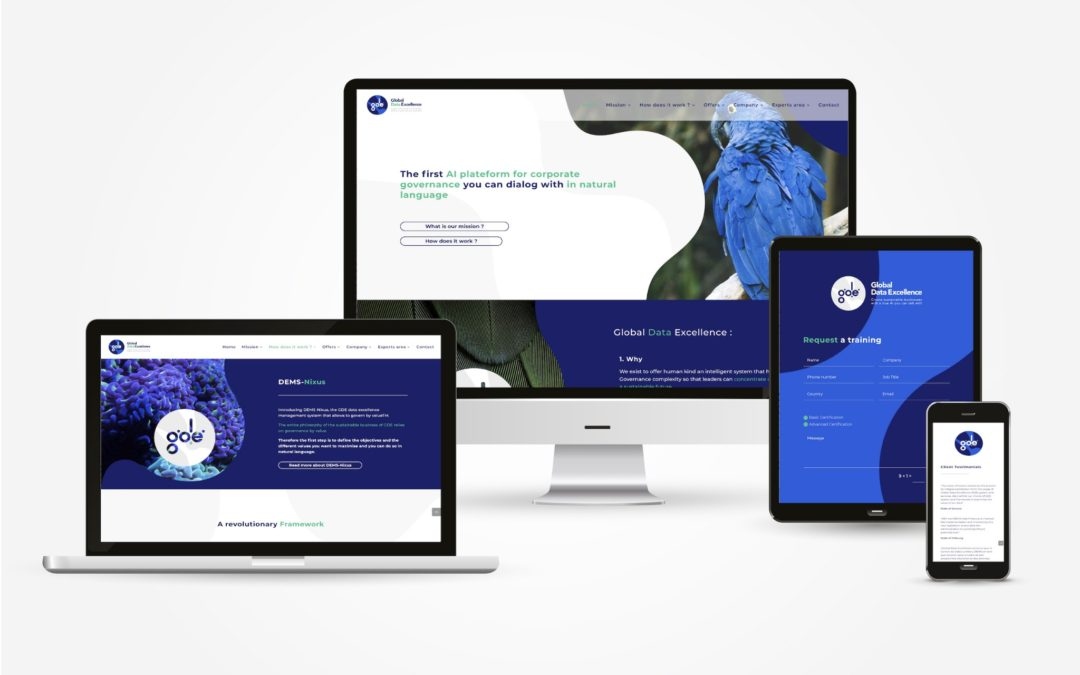 GLOBAL DATA EXCELLENCE: COMPLETE REBRANDING AND LAUNCHING OF THE NEW WEBSITE